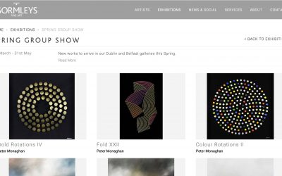 New Works for Sale in Gormleys Spring Group Show